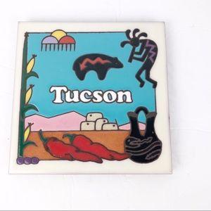 Tucson Kokopelli Decorative Tile